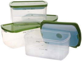 Fit & Fresh - Fresh Starts 2-Cup Chilled Containers with Removable Ice P... - $14.17