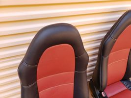 00-05 Toyota MR2 Spyder Seats L&R Reupholstered W/ Tracks image 7