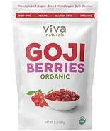 Viva Naturals Organic Dried Goji Berries, 2lb - Premium Himalayan Berrie... - $36.95