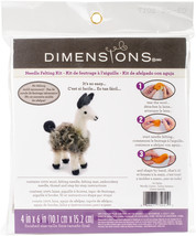 Dimensions Felt Decor Applique Kit-3-D Llama - $11.57