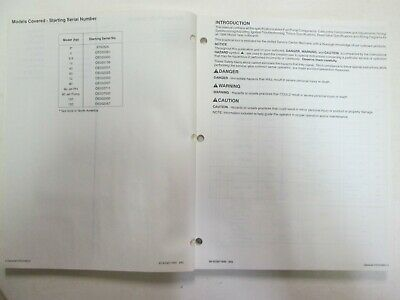 1994 Force Outboards Technicians Handbook Manual WATER DAMAGED WORN OEM image 4