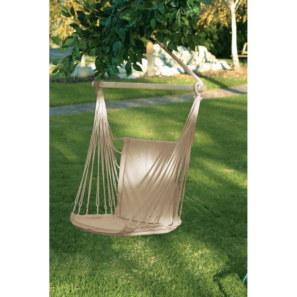 Portable Hammock, Outdoor Hammock Chair Patio Rope Cotton Hammock Chair For Kids