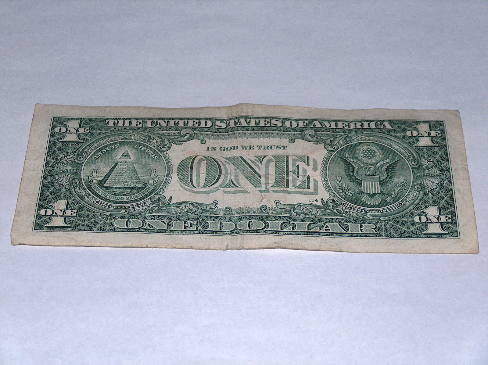 2009 $1 One Dollar Bill US Note Date April 4 1900 19000404 Fancy Serial Number #