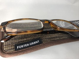 Foster Grant Boston TOR Tortoise Reading Glasses Crystal Vision w/ case +1.75 - $11.50