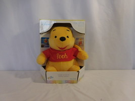 Disney Baby Winnie the Pooh Musical Plush + Womb Sounds Heartbeat Soother NEW - $48.02