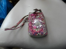 Vera Bradley all in one wristlet in Paisley Meets Plaid - $12.75