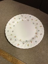 """WEDGWOOD Cascade 8 1/2"""" Lunch Plate China ENGLAND - Flower Pattern - $18.39"""