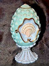 Season's Treasures Egg Collection 1994 Seashells of Summer M Zapata AA18-1356 Vi image 5