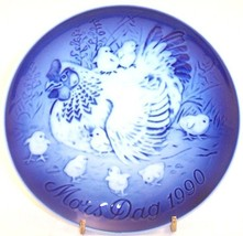 "Bing & Grondahl Mother's Day Mors Dag Hen & Chicks 6"" Porcelain Plate, 1990 - $18.80"