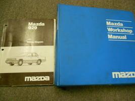 1991 Mazda 929 Service Repair Shop Manual Set Factory Oem Books 91 - $18.97