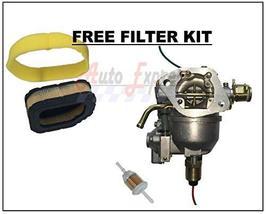 Auto Express Carburetor for Sabre 2354HV 2554HV Nikki Carb Tune Up Kit Pump Filt image 2