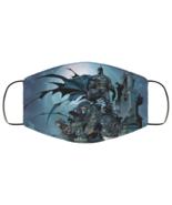 Face Mask Batman Art v2 DC Comics Superhero Justice League 2 Ply Lightwe... - $13.95