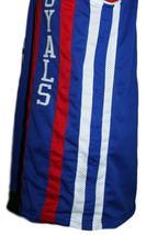 Oscar Robertson #14 Cincinnati Royals Basketball Jersey New Sewn Blue Any Size image 3