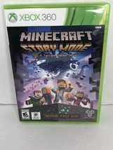 Minecraft Story Mode A Tell Tale Games Series Season Pass Disc Xbox 360 EUC - $19.99