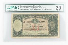 1938 Australia 0.5kg Banconote Selezionato da PMG VF-20 P 26a - $272.35