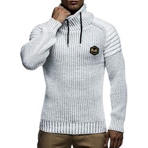 Applique Drawstring Pullover Sweater(WHITE 2XL) - $40.33
