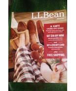 L.L.BEAN WINTER House Shoes CATALOG 2017 Male Women Child Models Back-is... - $5.93