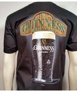 GUINNESS BREWERY IRISH DRAUGHT BEER PINT KEG ALCOHOL BLACK LAGER T SHIRT... - $19.99
