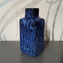 Vintage Old Scandinavian Sweden JIE Pottery Home Decor VASE Cobalt Blue ... - $45.00