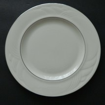 Lenox Collection Sand Dune Platinum Ivory Salad Plate Made in USA - $8.90