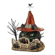 "Department 56 Snow Village Halloween Black Cat Shack Light House, 7.88"",... - ₨7,878.62 INR"