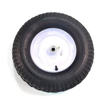 Arnold 15.5-Inch Wheelbarrow Wheel with Knobby Treat 480-400-Inch x 8-Inch - $41.03