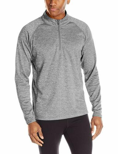 Medium Colorado Clothing Men's Agate Jacket 1/4 Zip Tech Pullover Storm Gray