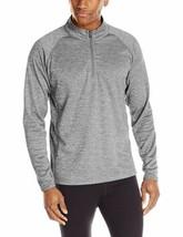 Medium Colorado Clothing Men's Agate Jacket 1/4 Zip Tech Pullover Storm Gray