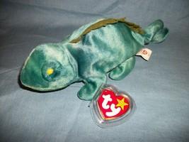 TY Beanie Babies Iggy The Iguana With Hang Tag  9/12/97 - $2.48