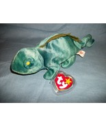 TY Beanie Babies Iggy The Iguana With Hang Tag  9/12/97 - $2.48
