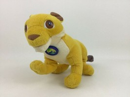 Talking Lion Rescue Plush Go Diego Go Toy Fisher Price 2006 Stuffed w Ba... - $17.77