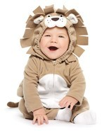 NEW NWT Carters Boys or Girls Lion Halloween Costume Size 18 Months  - $49.53 CAD