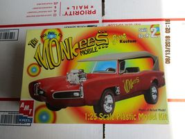 """AMT Barris Kustom """"The Monkees Mobile"""" 1/25 scale - $28.99"""