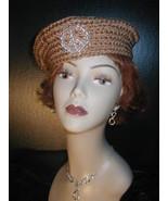 Crochet - The Pill Box Hat!  - $16.99