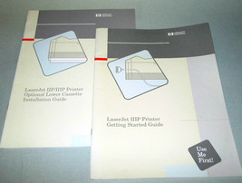 HP LASERJET IIIP PRINTER USERS GUIDE-GETTING ST... - $14.46