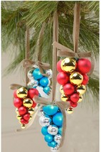 Creativity Grape Bunch Christmas Tree Pendant Bauble Ball For Holiday De... - $23.99