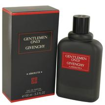 Gentlemen Only Absolute by Givenchy Eau De Parfum Spray 3.3 oz - $91.00