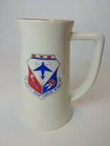 Vintage 514th Troop Carrier Wing Mug Made in USA USAF Ft Dix NJ Air Force - $15.79
