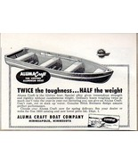 1950 Print Ad Aluma Craft Lifetime Aluminum Boats Minneapolis,MN - $9.25