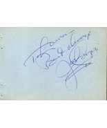 JACKIE COOPER Autograph. Signed on album page. - $5.93