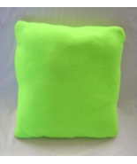 Neon Lime Green Handmade Pillow - $14.99
