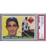 Sandy Koufax 1955 Topps #123 Rookie Card PSA 6 EXCELLENT - MINT (EX-MT) - $1,749.00
