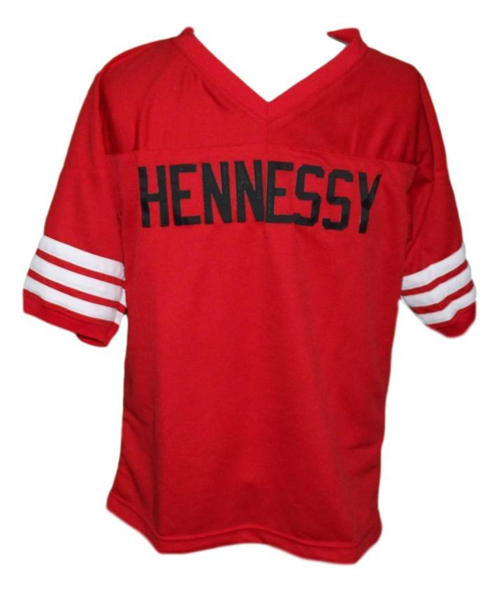 Queens Bridge #95 Shook Ones Hennessy New Men Football Jersey Red Any Size