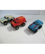 3 Vintage Schaper Stompers Chevy 4x4 Red Van / 4x4 2.2 Blue Truck / 4x4 ... - $29.70