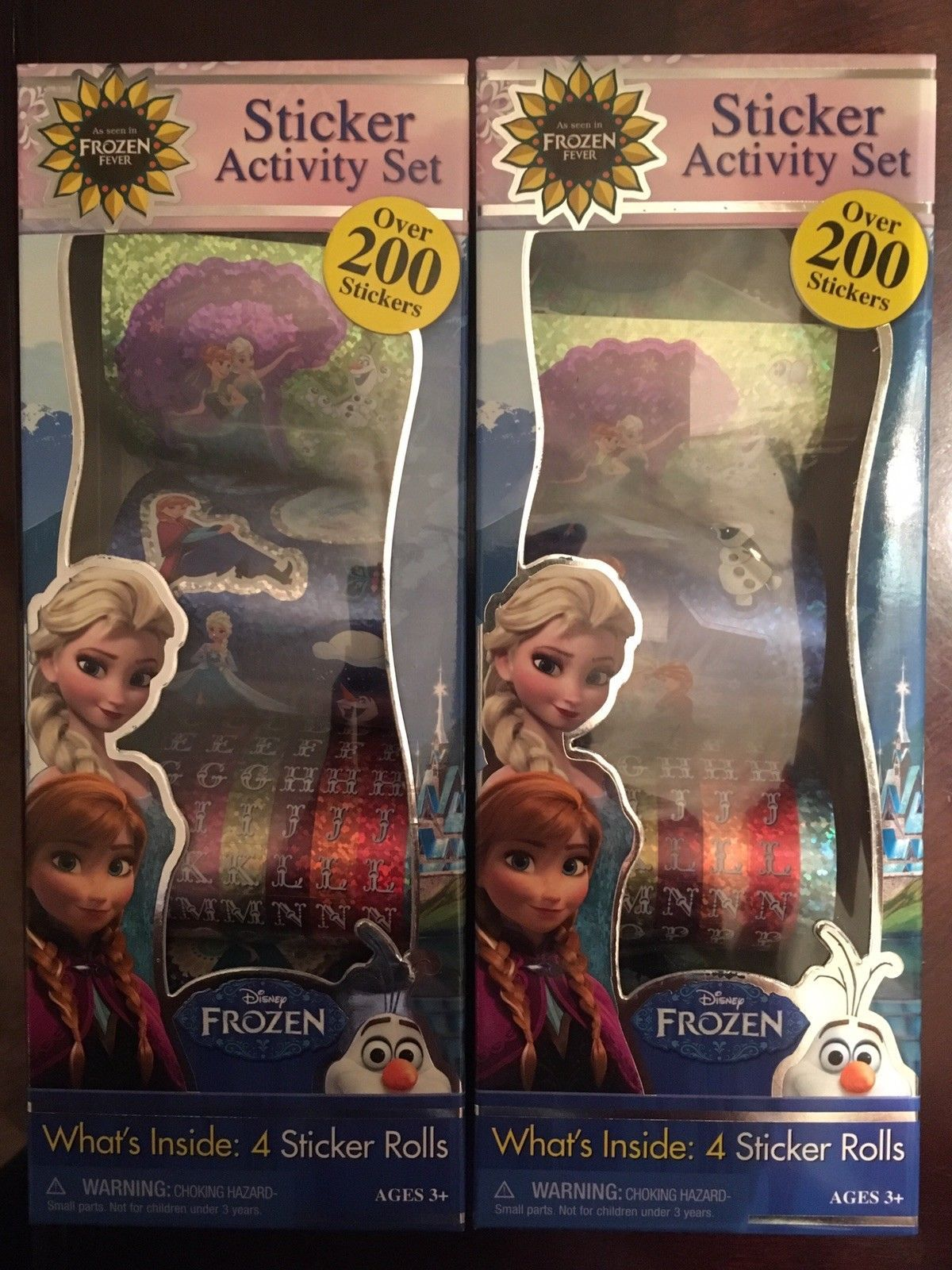 DISNEY FROZEN Sticker Activity Over 200 and 50 similar items