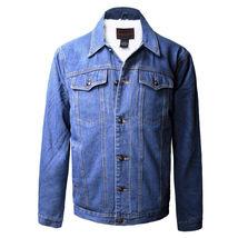 Junior Kids Boy's Premium Button Up Denim Fur Lined Trucker Sherpa Jean Jacket image 5