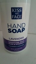 Kiss My Face - Hand Soap - Lavender - 16 FL OZ - Sealed - $26.72