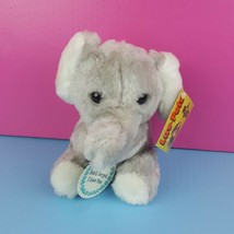 Luv-Pets Russ Berrie Plush Gray Elephant Love You Stuffed Animal Vintage... - $37.61