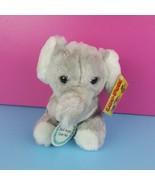 Luv-Pets Russ Berrie Plush Gray Elephant Love You Stuffed Animal Vintage... - $37.61