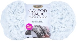 Lion Brand Go For Faux Thick & Quick Bonus Bundle Yarn-Chinchilla - $30.18